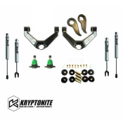 Brand-Name - Kryptonite Steering and Suspension Products - Kryptonite Products - Kryptonite - Stage 3 Leveling Kit with FOX Shocks - 2011+ GM