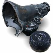 Transmissions - 98.5-02 Dodge 24V - BD Heavy Duty Transmissions - 98-02 Dodge 5.9L - BD Diesel Performance - BD - 47RE Transmission with Billet Input & Converter Package - 1997-1999 Dodge 2WD w/Speed Sensor Only (No Speedo Head)
