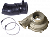 Turbochargers - 98-03 Ford 7.3L - Turbocharger Accessories - 98-03 Ford 7.3L - ATS Diesel Performance - ATS - Ported Compressor Housing w/4-inch boot - 99.5-03 Ford 7.3L Power Stroke