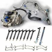 Fuel Pumps, Injection Pumps and Injectors - GM Duramax LML LGH - CP4 to CP3 Conversion - GM duramax LML LGH - Performance Diesel Parts - Full CP4 to CP3 Conversion Kit - Offroad Use Only - No DPF - No Tuning Required - 2011-2016 GM 6.6L LML Duramax