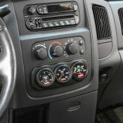 Gauges & Gauge Holders - 03-07 Dodge 5.9L - Gauge Holders - 03-07 Dodge 5.9L - Banks Engineering - Banks - Dash Mount Gauge Pod 3 Gauge - 2003-2005 Dodge Ram Black