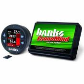 Banks - Economind Diesel Tuner (PowerPack calibration) with Banks iDash 1.8 Super Gauge for use with 2007-2010 Chevy 6.6L LMM