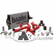 1994 - 1997 7.3L Ford Power Stroke - Intercoolers - 94-97 Ford 7.3L - Banks Engineering - Banks - Intercooler System W/Boost Tubes (Powder Coat Red) - 94-97 Ford 7.3L