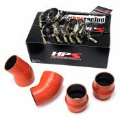 1994 - 1998 5.9L Dodge 12 Valve - Intercoolers - 94-98 Dodge 5.9L - HPS Performance Products - HPS - High Temp Aramid Reinforced Silicone Intercooler Hose Boots Kit - 1994-2002  Dodge Ram 5.9L