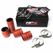 HPS Performance Products - HPS - High Temp Aramid Reinforced Silicone Intercooler Hose Boots Kit - 2003-2007 Dodge Ram 5.9L
