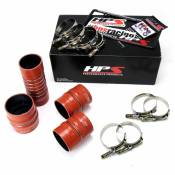 HPS Performance Products - HPS - High Temp Aramid Reinforced Silicone Intercooler Hose Boots Kit - 2007-2010 Dodge Ram 6.7L
