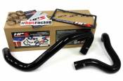 HPS Performance Products - HPS - Black Reinforced Silicone Radiator Hose Kit - 2002-2003 Ford 7.3L with Single or Dual Alternator