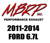 Exhaust Systems - 2011+ Ford 6.7L - MBRP - 2011+ Ford 6.7L - MBRP Performance Exhaust - 2011-2014 Ford 6.7L