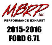 Exhaust Systems - 2011+ Ford 6.7L - MBRP - 2011+ Ford 6.7L - MBRP Performance Exhaust - 2015-2016 Ford 6.7L