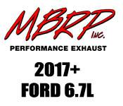 Exhaust Systems - 2011+ Ford 6.7L - MBRP - 2011+ Ford 6.7L - MBRP Performance Exhaust - 2017 and UP Ford 6.7L