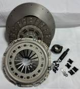 "VALAIR - Performance Diesel Clutches - 12.25"" to 13"" X 1.25"" Conversion Stock Towing Single Disc Clutch Kit - Organic - 1994-2002 Dodge 5.9L with NV4500"