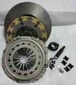 "VALAIR - Performance Diesel Clutches - 12.25"" to 13"" X 1.25"" Conversion Performance Towing Single Disc Clutch Kit - Kevlar / Ceramic - 1994-2002 Dodge 5.9L with NV4500"