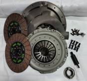 VALAIR - Performance Diesel Clutches - Performance Towing Dual Disc Clutch Kit - Organic - 1994-2002 Dodge 5.9L with NV4500
