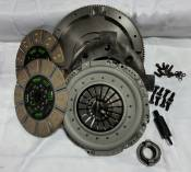 Transmissions - 94-98 Dodge 5.9L - Valair Performance Diesel Clutches - 94-98 Dodge 5.9L - VALAIR - Performance Diesel Clutches - Performance Dual Disc Clutch Kit - Ceramic - 1994-2002 Dodge 5.9L with NV4500
