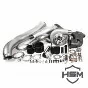 Turbochargers - 08-10 Ford 6.4L - Stock & Performance Turbochargers - 08-10 Ford 6.4L - H&S Motorsports - H&S Motorsports - 08-10 Ford 6.4L Single SX-E Turbo Kit
