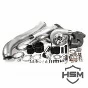 Turbochargers - Ford Turbochargers - H&S Motorsports - H&S Motorsports - 08-10 Ford 6.4L Single Turbo Kit