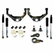 Steering, Suspension and Lift - GM Duramax LB7 - Leveling Kits and Related Parts - 01-04 GM - Kryptonite Products - Kryptonite - Stage 3 Leveling Kit with Bilstein Shocks - 2001-2010 GM