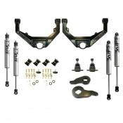 Steering, Suspension and Lift - GM Duramax LB7 - Leveling Kits and Related Parts - 01-04 GM - Kryptonite Products - Kryptonite - Stage 3 Leveling Kit with FOX Shocks - 2001-2010 GM