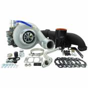 Industrial Injection - Performance Turbochargers - Dodge 6.7L - 2007.5 - 2009 Industrial Injection Dodge 6.7L Turbocharger Kits - Industrial Injection - Industrial Injection - Thunder 330 Turbocharger Kit - 2007.5-2012 Dodge RAM 6.7L Cummins