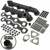 BD Diesel Performance - BD - Heavy-Duty Exhaust Manifold Kit - 2011-2014 Ford F250-F550 6.7L Powerstroke - Image 2