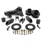 2.5 IN Leveling Kit with Track Bar Relocation Bracket - 2011-2020 FORD SUPER DUTY 4WD