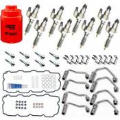 Brand-Name - Performance Diesel Injectors - Performance Diesel Injectors - LB7 Complete Injector Replacement Kit (New Bosch) - 2001-2004 GM 6.6L Duramax