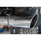 MBRP Exhaust - MBRP Pro Series - 4 Inch - T304 SS - Filter Back Exhaust Single Side Exit - 2020 Silverado/Sierra 2500/3500 6.6L Duramax - Image 3