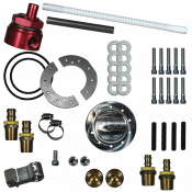 Fuel System Components - GM Duramax LLY - Fuel Tank Sumps - GM Duramax LLY - FASS Fuel Air Separation Systems - FASS Diesel Fuel Sump With Bulkhead and Suction Tube Kit