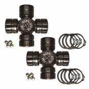 Axle - Axle Joints - Nitro Gear & Axle - Dana 60 Excalibur U-Joint Pair