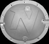 Nitro Defender Differential Cover Silver for Chrysler 8.25 Inch Nitro Gear & Axle