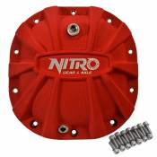 Ford 8.8 Inch Differential Covers Red X-treme