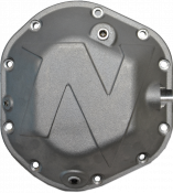 Differential - Differential Covers - Nitro Gear & Axle - Dana 44 Differential Cover Defender Series Silver Aluminum Bolts Included Nitro Gear