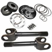 Drivetrain & Differentials - Drive Shaft Flange - Nitro Gear & Axle - Dana 60 Ford 35 Spline Drive Flange 11-3/8 Inch 5-806X 4340 Chromoly Steel DF/SK w/ SA