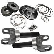 Drivetrain & Differentials - Drive Shaft Flange - Nitro Gear & Axle - Dana 50/60 Ford 35 Spline Drive Flange 9.49 Inch 5-806X 4340 Chromoly Steel DF/SK w/ SA
