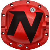 Differential - Differential Covers - Nitro Gear & Axle - Dana 30 Nitro Defender Differential Cover Red for Chrysler 8.25 Inch Nitro Gear & Axle