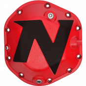 Differential - Differential Covers - Nitro Gear & Axle - Dana 44 Differential Cover Defender Series Red Aluminum Bolts Included Nitro Gear