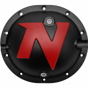 Differential - Differential Covers - Nitro Gear & Axle - Nitro Defender Differential Cover Black for Chrysler 8.25 Inch Nitro Gear & Axle