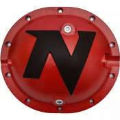 Differential - Differential Covers - Nitro Gear & Axle - Nitro Defender Differential Cover Red for Chrysler 8.25 Inch Nitro Gear & Axle