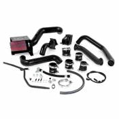 2007 - 2010 6.6L Duramax LMM - Intake Kits & Air Filters - GM Duramax LMM - HSP Diesel - HSP - LMM - S300 Single Install Kit - WITHOUT TURBO (Custom Powder Coat)