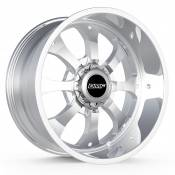 PAYBACK - 20X10 DUAL DRILL 6X135 6X5.5 -25MM OFFSET - POLISHED