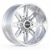 ROULETTE - 20X10 8X6.5 -25MM OFFSET - POLISHED