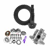 11.25 inch Dana 80 4.56 Rear Ring and Pinion Install Kit 35 Spline Positraction 4.375 inch BRG