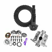 11.25 inch Dana 80 3.73 Rear Ring and Pinion Install Kit 35 Spline Positraction 4.375 inch BRG