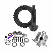 11.25 inch Dana 80 3.73 Rear Ring and Pinion Install Kit 35 Spline Positraction 4.125 inch BRG