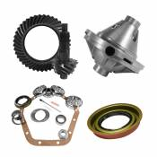10.5 inch GM 14 Bolt 3.73 Rear Ring and Pinion Install Kit 30 Spline Positraction