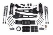 "4"" Radius Arm Lift Kit (NX2 Shocks) - 2019-2020 Dodge / Ram 3500 Diesel Truck w/o Air-Ride"