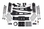 "4"" Radius Arm Lift Kit (FOX 2.0 Shocks) - 2019-2020 Dodge / Ram 3500 Diesel Truck w/o Air-Ride"