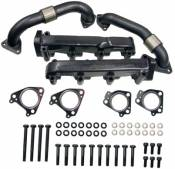 Exhaust Systems - GM Duramax LLY - Exhaust Manifolds - GM Duramax LLY - ATS Exhaust Manifolds - ATS - Pulse Flow Exhaust Manifold - 01-04 Duramax 6.6L LB7