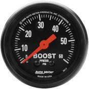 Chevy / GMC - 1993 - 2000 GM 6.5L Turbo Diesel (Electronic) - Auto Meter Gauges - Auto Meter Z Series Boost Gauge