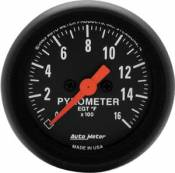Chevy / GMC - 1993 - 2000 GM 6.5L Turbo Diesel (Electronic) - Auto Meter Gauges - Auto Meter Z Series Pyrometer